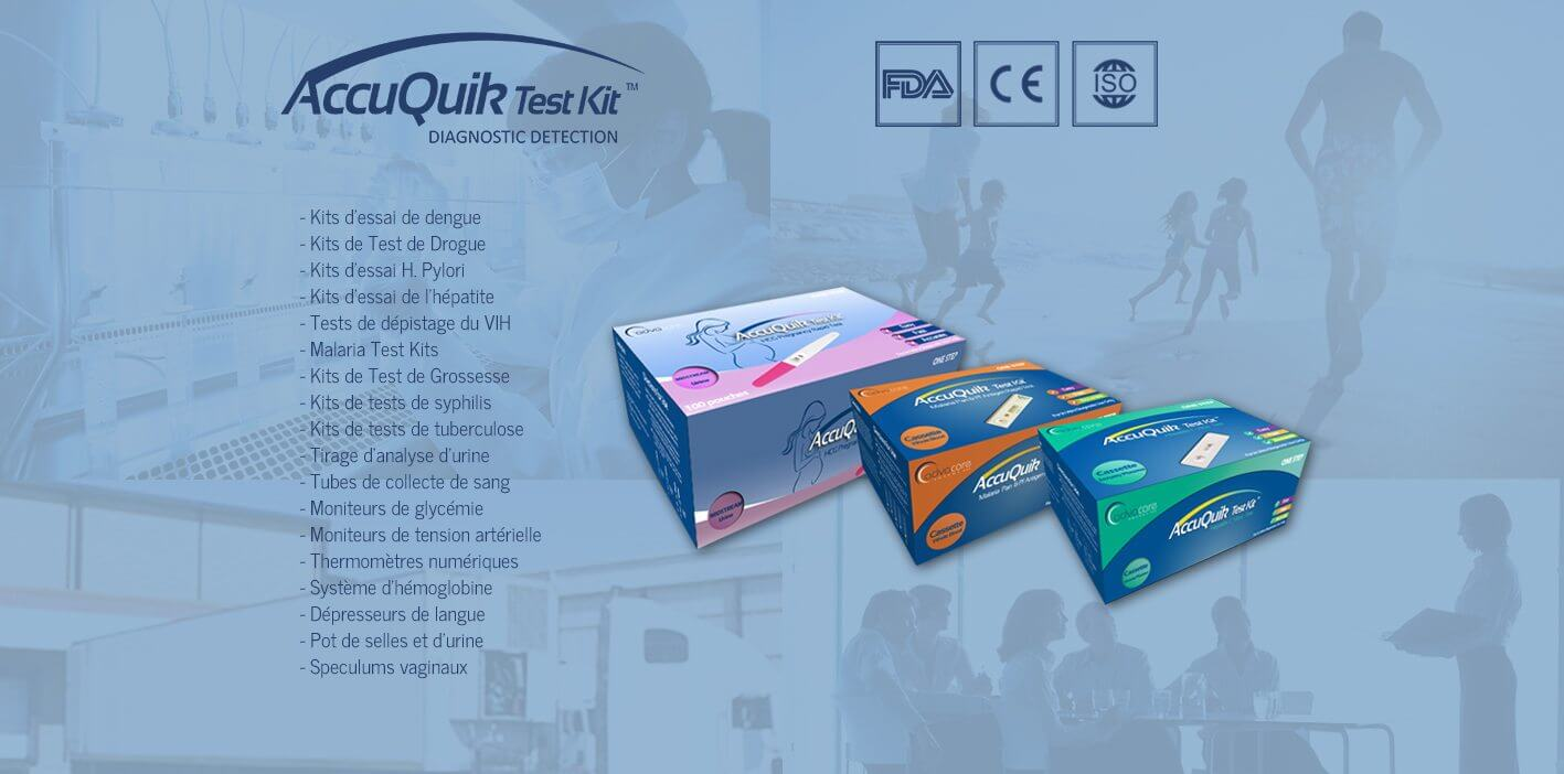 AccuQuik Test Kits