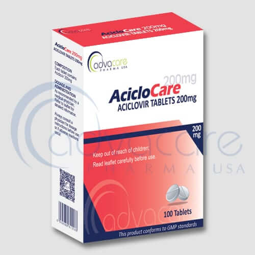 AdvaCare Pharma Aciclovir Tablets