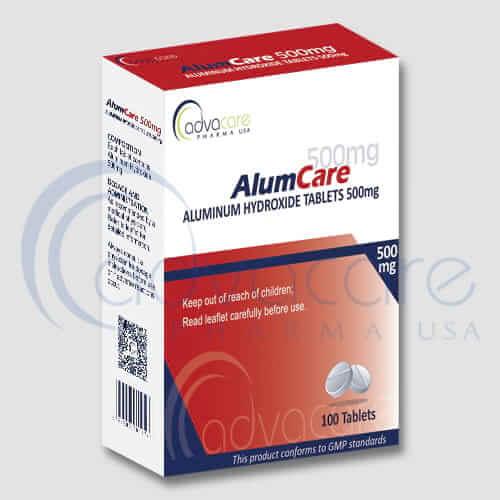 Comprimés d'hydroxyde d'aluminium
