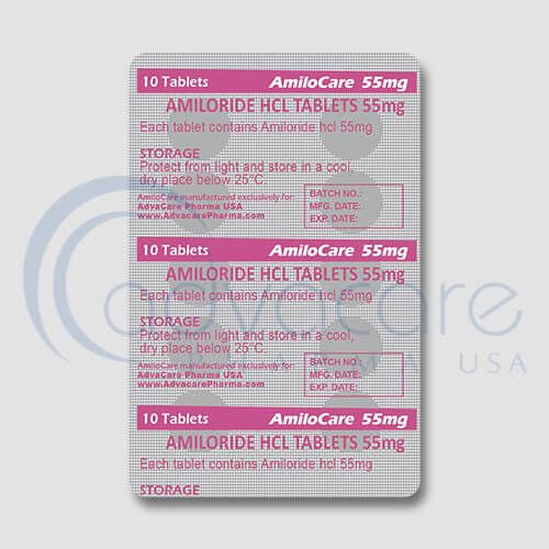 Amiloride HCL Tablets Manufacturer 3