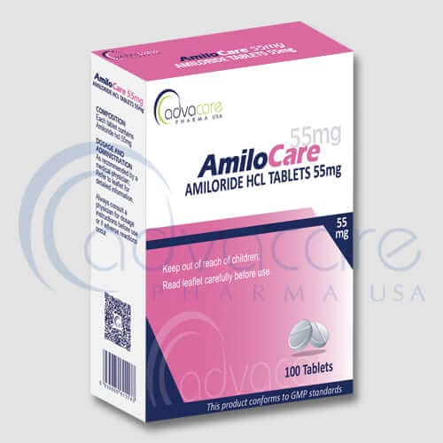 Amiloride HCL Tablets