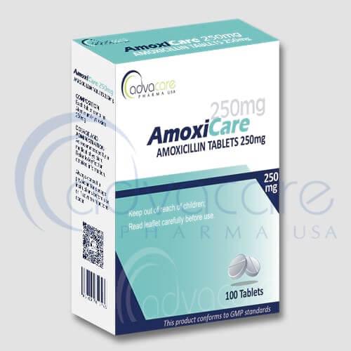Comprimés d'amoxicilline