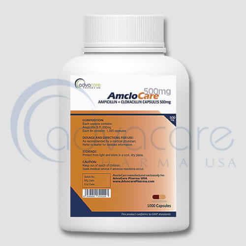 Ampicillin + Cloxacillin Capsules Manufacturer 2