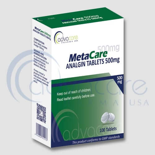 Analgin (Metamizole Sodium) Tablets Manufacturer 1