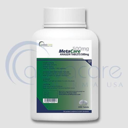 Analgin (Metamizole Sodium) Tablets Manufacturer 2