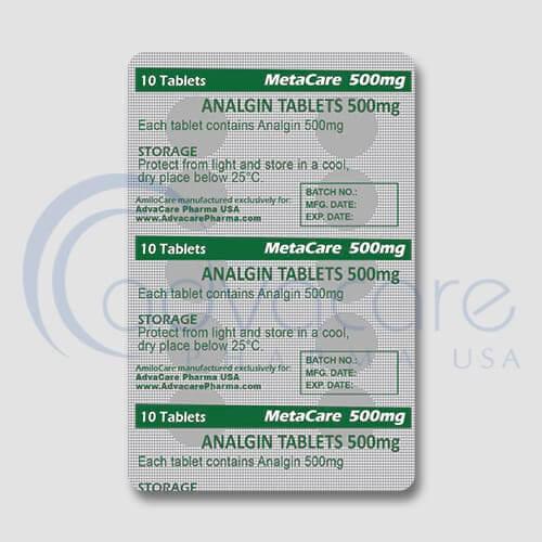 Analgin (Metamizole Sodium) Tablets Manufacturer 3