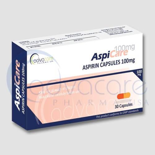 Aspirin (Acetylsalicylic Acid) Capsules Manufacturer 2