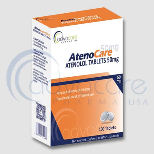 Atenolol Tablets Manufacturer 1