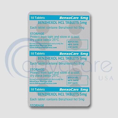 Benzhexol HCL Tablets Blister