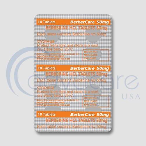 Berberine HCL Tablets Manufacturer 2