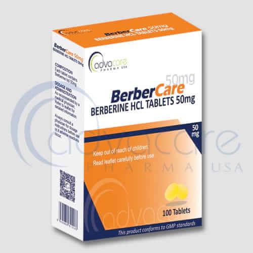 Berberine HCL Tablets Manufacturer 1