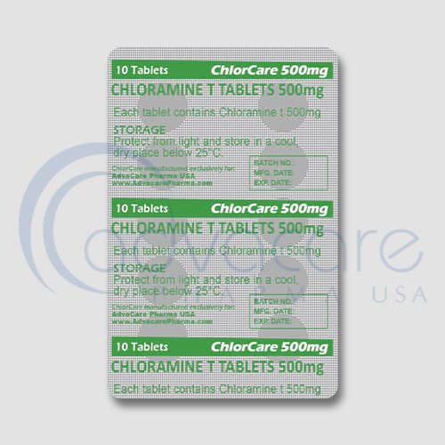 Chloramine T Tablets Blister