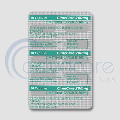 Cimetidine Capsules Manufacturer 3