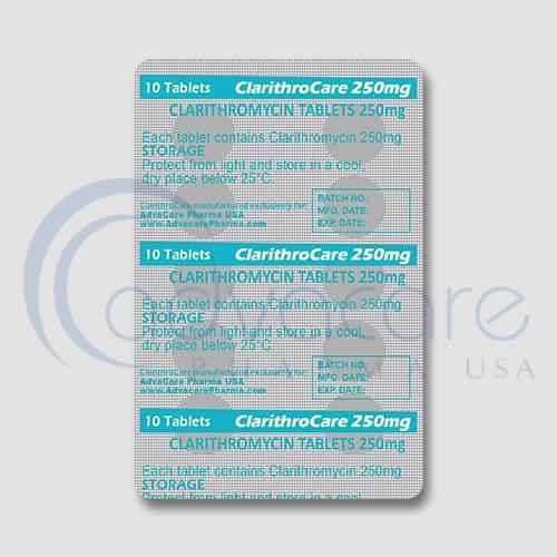 Clarithromycin Tablets Manufacturer 2