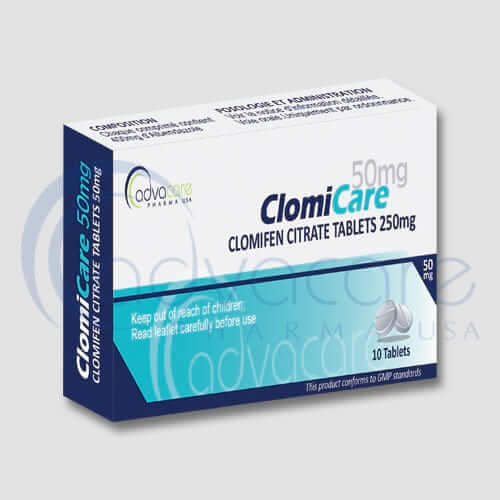 Clomifen Citrate Tablets Manufacturer 1
