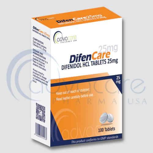 Comprimés de difénidol HCL