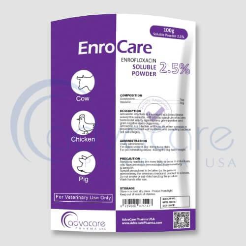 Polvo Soluble de Enrofloxacina
