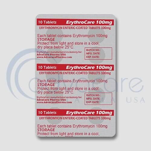 Erythromycin Enteric-coated Tablets Manufacturer 3