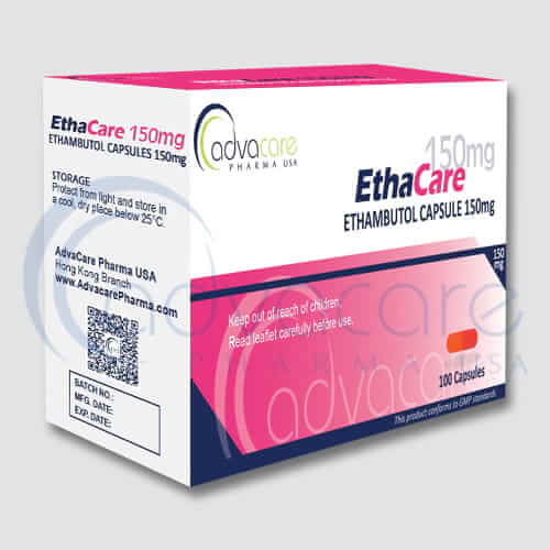 Ethambutol HCL Capsules Manufacturer 1