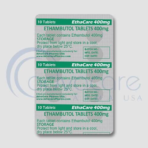 Ethambutol HCL Tablets Manufacturer 3