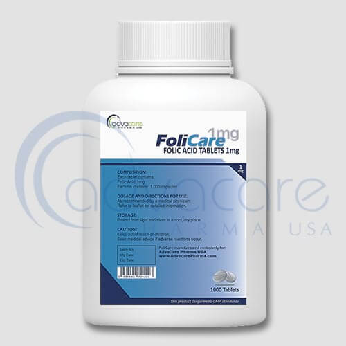 Folic Acid Tablets Manufacturer 2