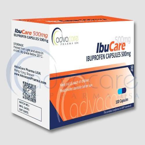 Cápsulas de Ibuprofeno