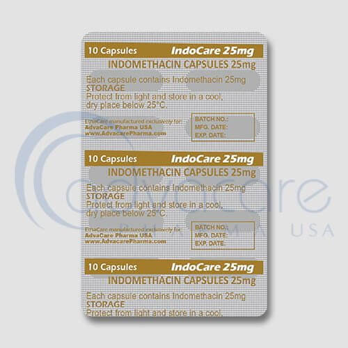 Indomethacin Capsules Blister