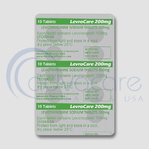 Levothyroxine Sodium Tablets Manufacturer 3