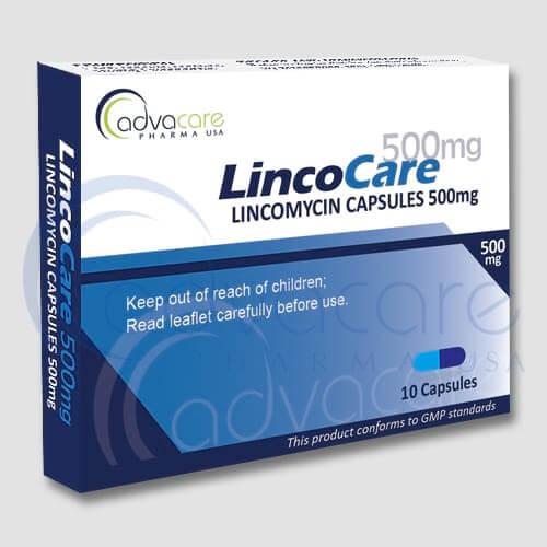 Cápsulas de Lincomicina