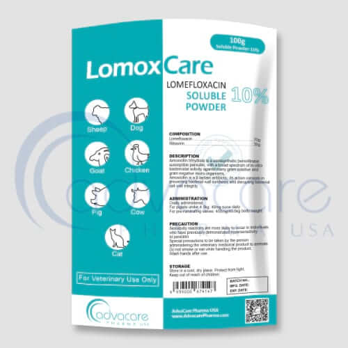 Lomefloxacin HCL Soluble Powder Manufacturer 1