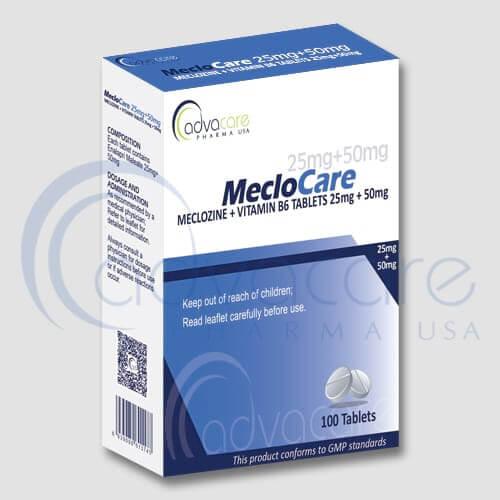 Meclizine + Vitamin B6 Tablets