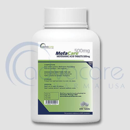 Mefenamic Acid Tablets Manufacturer 2