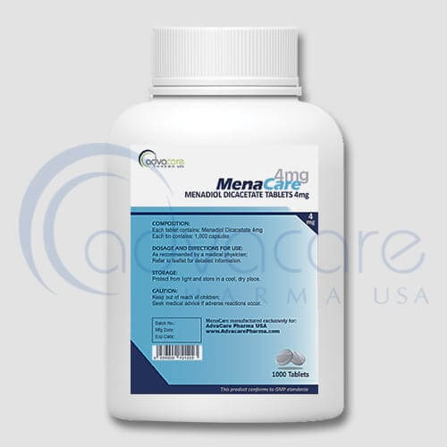 Menadiol Diacetate Tablets Manufacturer 2