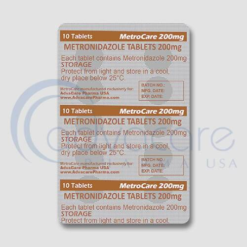 Metronidazole Tablets Blister