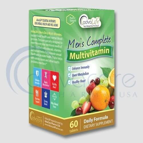 Men's Daily Vitamin Manufacturer 1