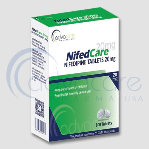 Nifedipine Tablets Manufacturer 1
