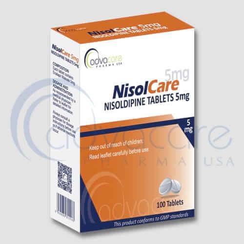 Tabletas de Nisoldipina
