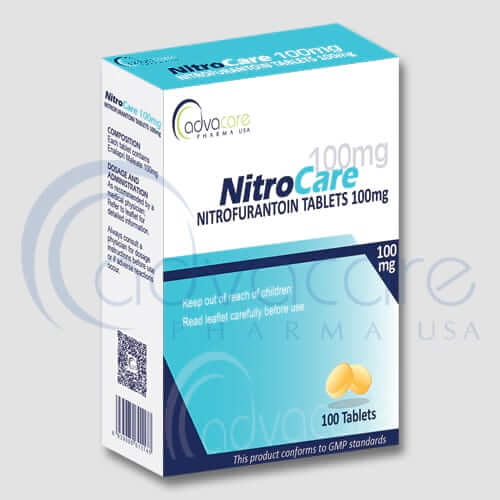 Tabletas de Nitrofurantoína