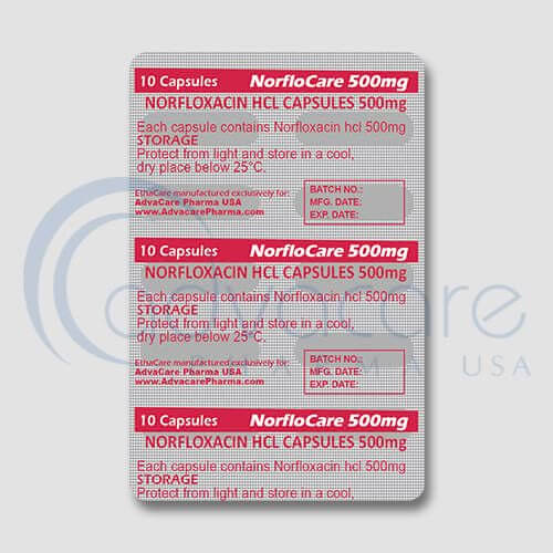 Norfloxacin HCL Capsules Manufacturer 2