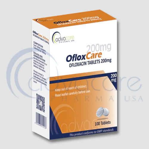 Tabletas de Ofloxacina