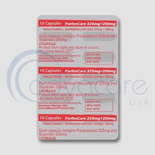 Paracetamol + Ibuprofen Capsules Manufacturer 3