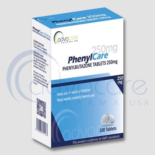 Tabletas de Fenilbutazona