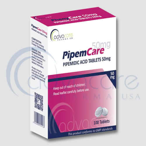 Pipemidic Acid Tablets