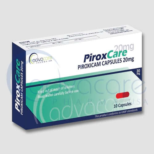 Piroxicam Capsules Manufacturer 2