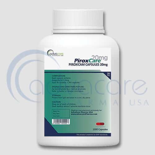 Piroxicam Capsules Manufacturer 3