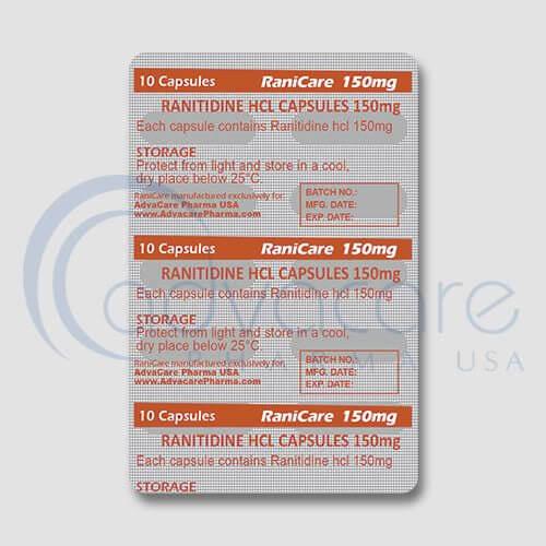 Ranitidine HCL Capsules Manufacturer 3