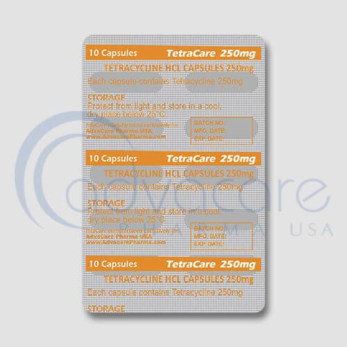 Tetracycline HCL Capsules Manufacturer 3