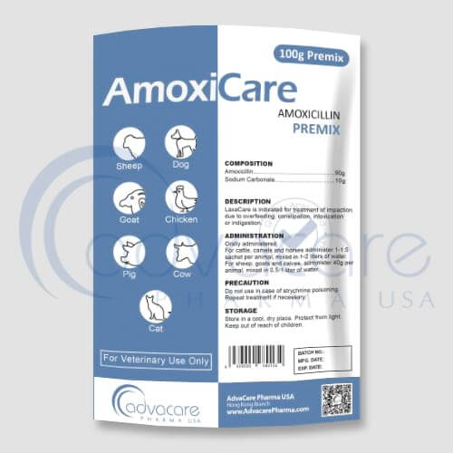 Amoxicillin Premix Manufacturer 1