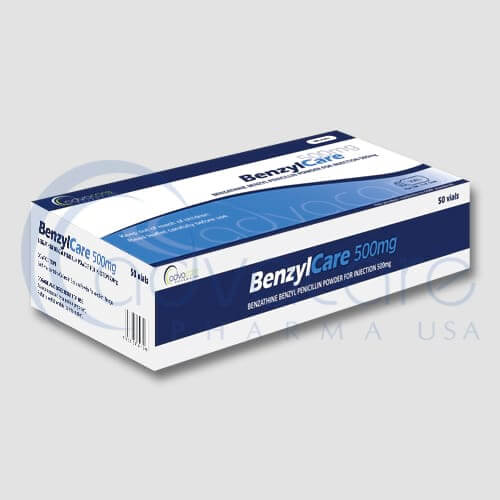 Benzathine Benzyl Penicillin Powder for Injections box