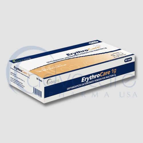 Poudre pour injection de lactobionate d'érythromycine